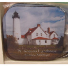 Point Iroquois Drink Coaster